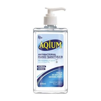 Image 1 for Ego Aqium Antibacterial Hand Gel 375mL