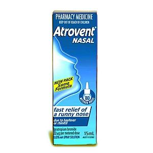 Atrovent Nasal Spray Use