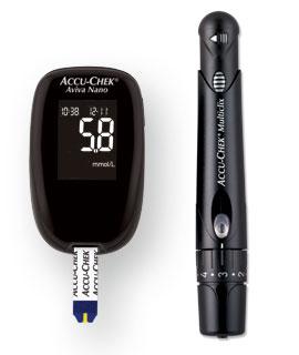 Accu Chek Blood Glucose Meter Kit Performa Nano Up To