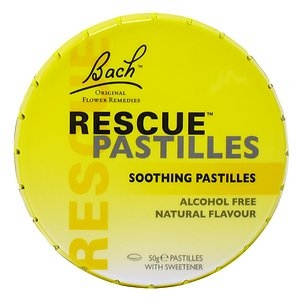 Image 1 for Bach Rescue Remedy Pastilles 50g