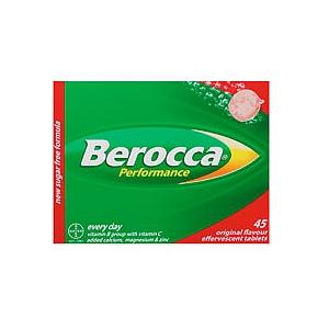 Thumbnail for Berocca Performance Effervescent  Original  Flavour Tabs 45