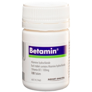 Thumbnail for Betamin  Vitamin B1 Tablets x 100