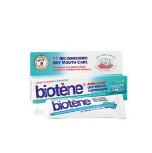 Image 1 for Biotene Dry Mouth Toothpaste Gel Mint 125g