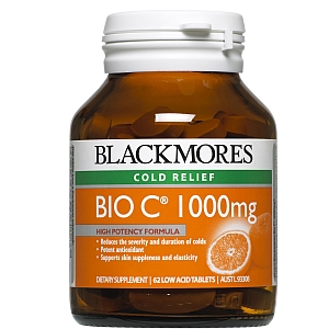 Image 1 for Blackmores Bio C 1000mg Tablets 62