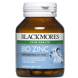 Thumbnail for Blackmores Bio Zinc Tablets x 168