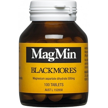 Thumbnail for Blackmores MagMin Magnesium Tablets x  100