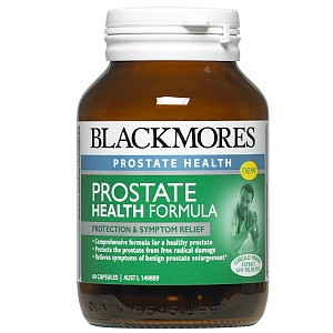 Thumbnail for Blackmores Prostate Health Formula Capsules x 60