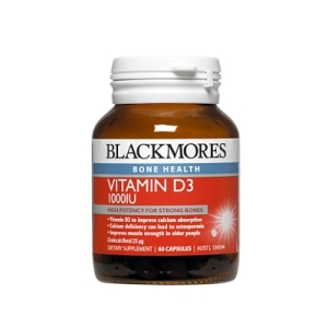 Thumbnail for Blackmores Vitamin D3 1000IU Capsules x 60
