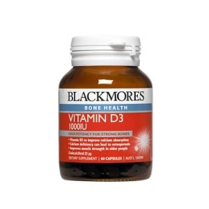 Image 1 for Blackmores Vitamin D3 1000IU Capsules x 60