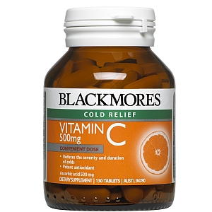 Image 1 for Blackmores Vitamin C 500mg Chewable Tablets  50