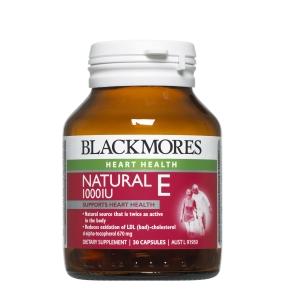 Image 1 for Blackmores Natural Vitamin E 1000IU Capsules x 30