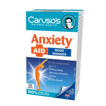 Thumbnail for Caruso's Anxiety Aid Tablets x 30