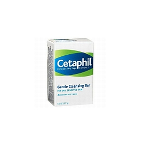 Thumbnail for Cetaphil Cleansing Bar 127g