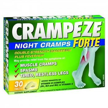 Thumbnail for Crampeze Night Cramps Forte Tablets x 30