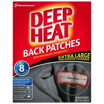 Thumbnail for Deep Heat Back Patches Extra Large x 2 Patches