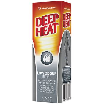 Image 1 for Deep Heat Low Odour Relief Cream 100g