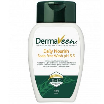 Thumbnail for Dermaveen Daily Nourish Soap Free Wash 250mL