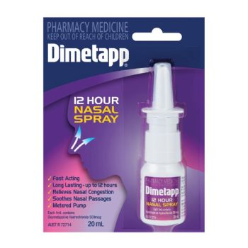 Thumbnail for Dimetapp 12 Hours Nasal Spray 20mL