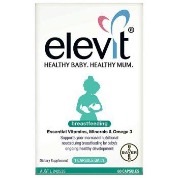 Image 1 for Elevit Breastfeeding Capsules x 60