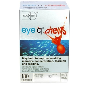 Thumbnail for Eye q Chews  Strawberry Flavour Capsules x 180 * Expire date 07/2020