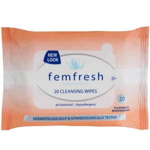 Image 1 for FemFresh Intimate Cleansing Wipes x 20