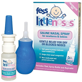 Image 1 for Fess Little Noses Saline Nasal Spray 15mL