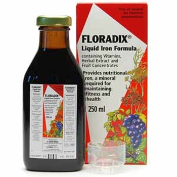 Image 1 for Floradix Formula Liquid Herbal  Iron Extrat 250mL