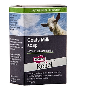 Thumbnail for Hope's Relief Goats Milk Soap 125gm