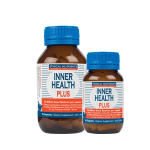 Thumbnail for Ethical Nutrients Inner Health Plus Capsules x 90