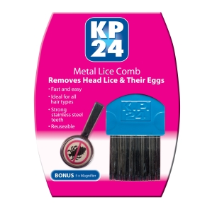 Image 1 for KP 24 Metal Lice Comb