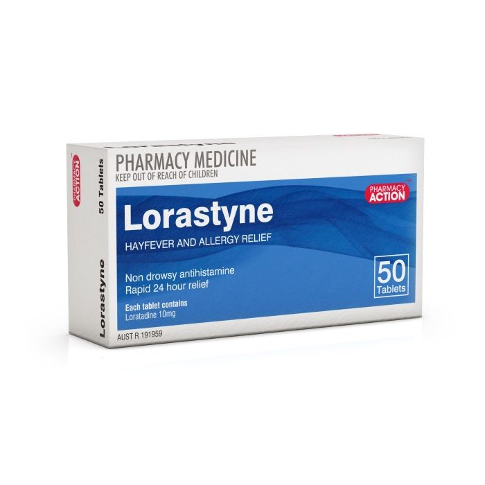 Thumbnail for Lorastyne 10mg  x50 (CLARATYNE generic)