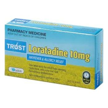 Thumbnail for Loratadine 10mg  x10