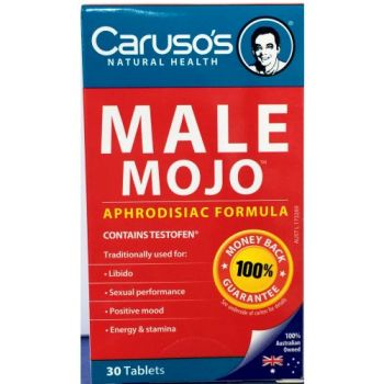 Thumbnail for Caruso's Male Mojo Tablets x 30