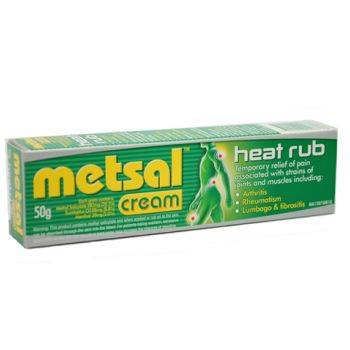 Image 1 for Metsal Heat rub Cream 50g