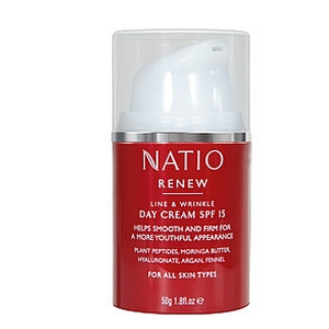 Thumbnail for Natio Renew Line & Wrinkle Day Cream SPF 15