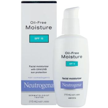 Thumbnail for Neutrogena Oil-free Moisturiser SPF 15 Lotion 115mL