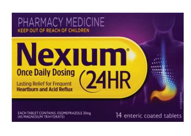Thumbnail for Nexium 24 Hour 20mg 14 Tablets