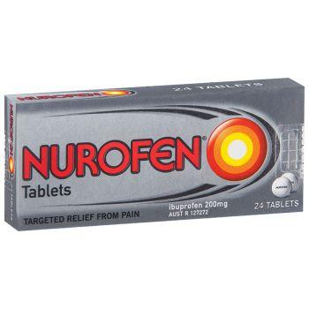 Thumbnail for Nurofen 200mg Tablets x 24