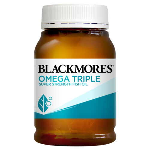 Image 1 for Blackmores Omega Triple Capsules x 150