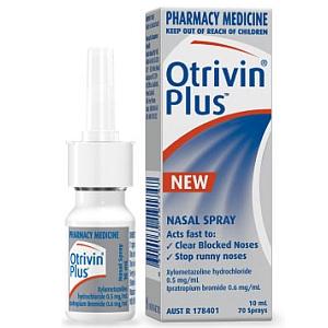 Image 1 for Otrivin Plus Nasal Spray 10mL