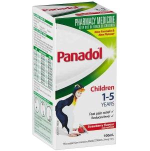 Thumbnail for Panadol Children 1-5 Years Colourfree Elixir Strawberry Flavour 100mL