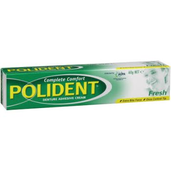 Thumbnail for Polident  Denture Adhesive Cream Fresh 60g