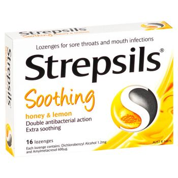 Thumbnail for Strepsils Honey & Lemon 16 Lozenges