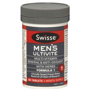 Thumbnail for Swisse Men's Ultivite  Formula 1 Tablets x  60