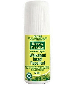 Thumbnail for Thursday Plantation Walkabout Insect Repellent Roll On 50mL
