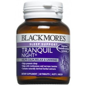 Image 1 for Blackmores Tranquil Night Tablets x 60