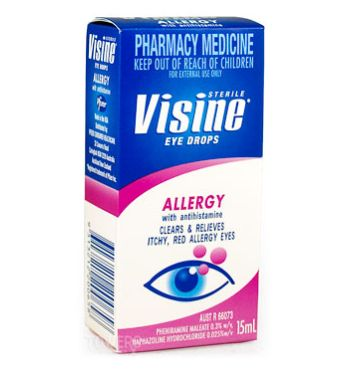 Thumbnail for Visine Allergy Eye Drops 15mL