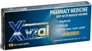 Xyzal Tablets 10 Towers Pharmacy